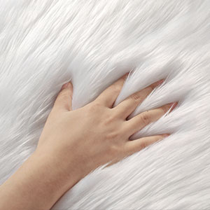 Ophanie Sheepskin Fluffy Area Rug