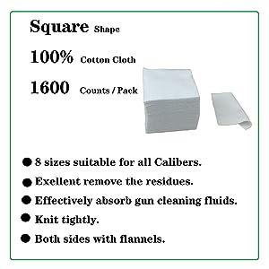 cotton square patches