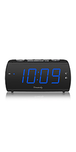 Large Alarm Clock Radio for Bedroom