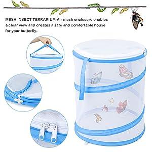Foldable Butterfly Habitat