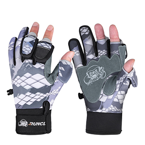 Neoprene 3 Cut Fingers Cycling Gloves Convertible Windproof for Men Women Ice Fishing Photography Kayaking RUNCL Fishing Gloves Winter Warm RAGUEL Touchscreen Outdoor Fishing Gloves