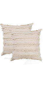 18 x 18 pillow cover cute throw pillows pack of 2 accent pillows for bed beige pillow covers