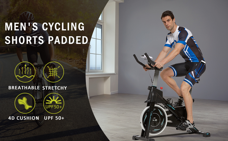 Men's Cycling Shorts 4D Padded