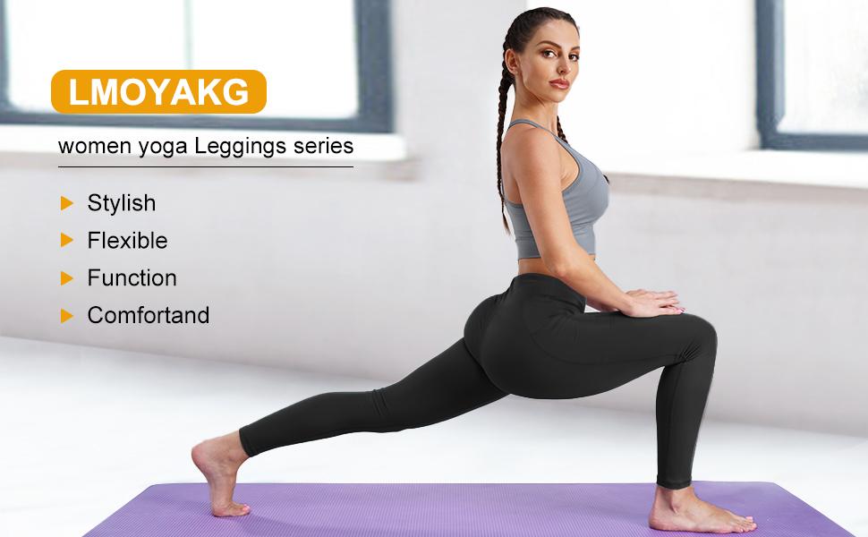 Black leggings for women