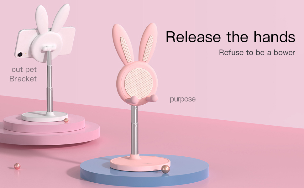 Cute Bunny Phone Stand