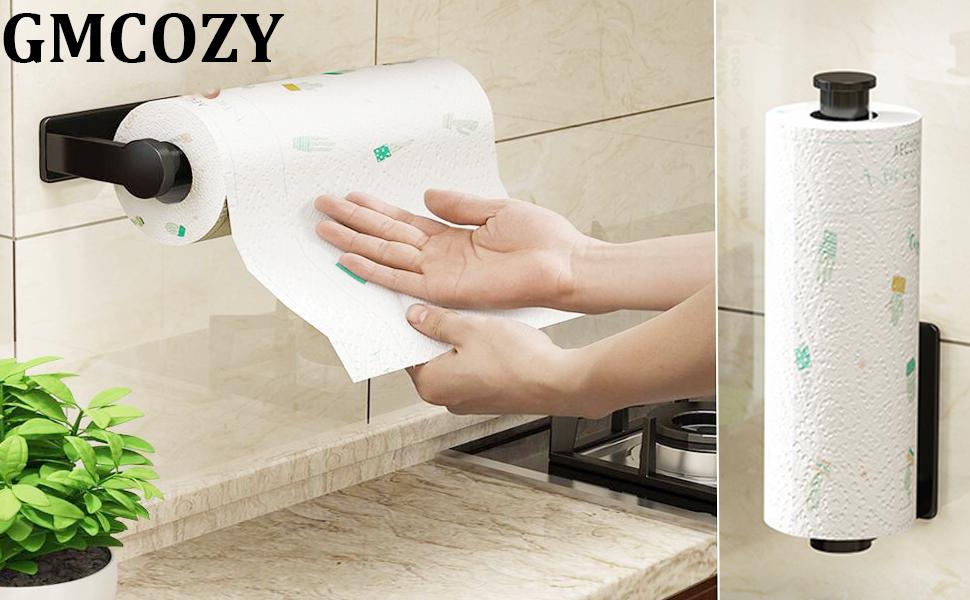 Under Cabinet Paper Towel Holder