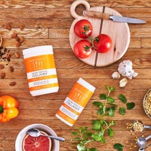 Supplement Improved Skin Health Beauty Collagen Capsules Grass-Fed Resveratrol & Hyaluronic Acid