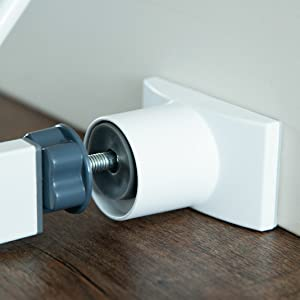 Wall Nanny Extender - Baby Gate Extension - Adds 4 Inches to Gates