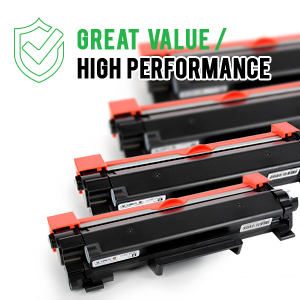 LINKYO Replacement Toner Cartridge Brother TN760 TN730 High Yield 4 Pack