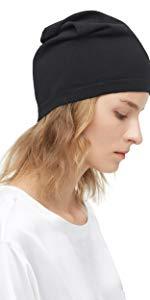 silk beanie hat
