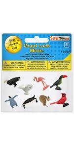 toy, figure, creature, safari, birds, minis, miniature, set, wings