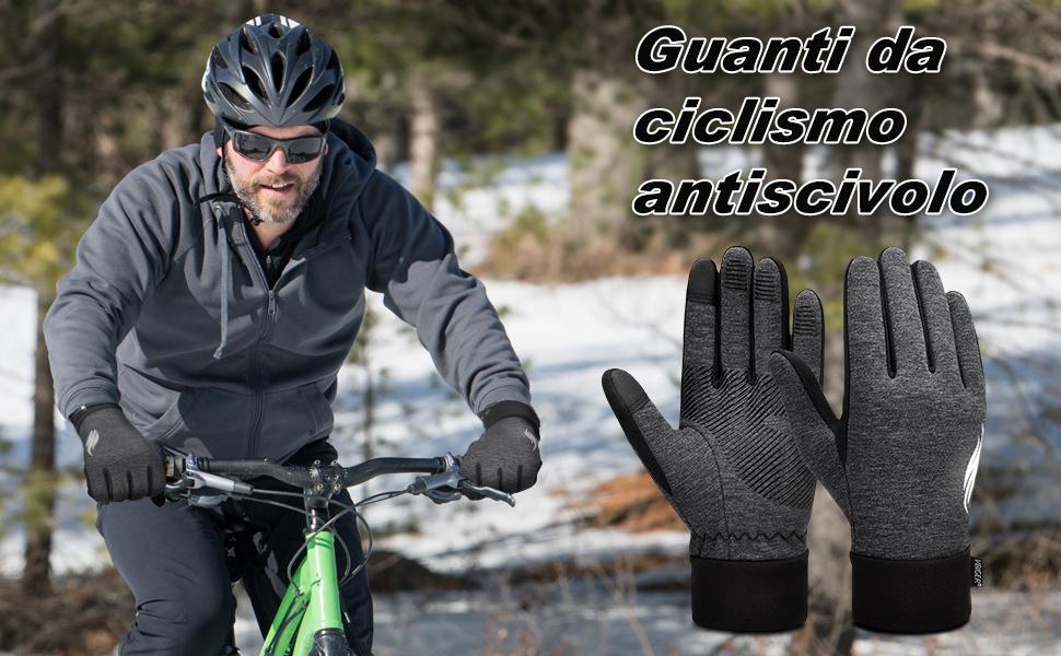 Guanti da ciclismo antiscivolo