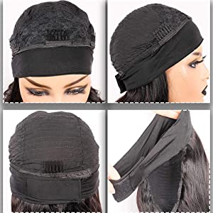 Intranet display of headband and wig