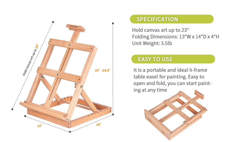 easel table,home easel.Studio Sketchbox table easel,wood sketchbox easel wood artist desktop case