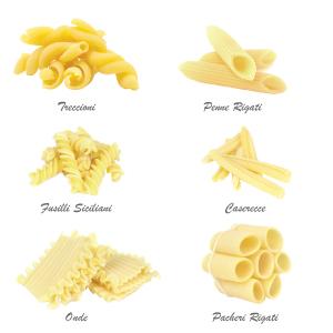 short italian pasta cuts