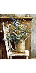 Wild Flowers Pot Chair
