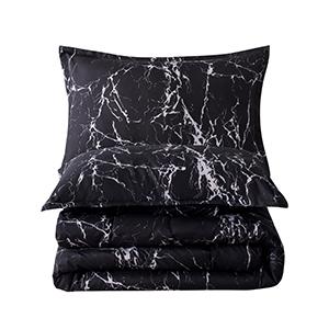 3 Pieces Comforter Set Twin:
