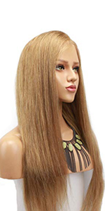 #18 blonde lace front wig