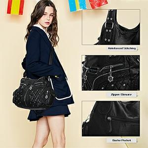 Angel Barcelo Roomy Fashion Hobo Womens Handbags