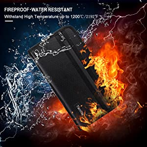FIRE&WATER RESISTANT