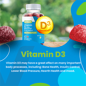 Vitamin D3 may have a great effect on many important body processes, including