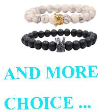 Distance Couple Crown Bracelet#4