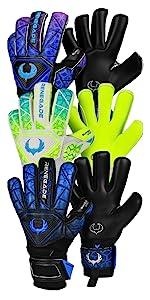 Renegade GK Vortex Series of Goalkeeper Gloves - Includes Shadow Wraith Storm