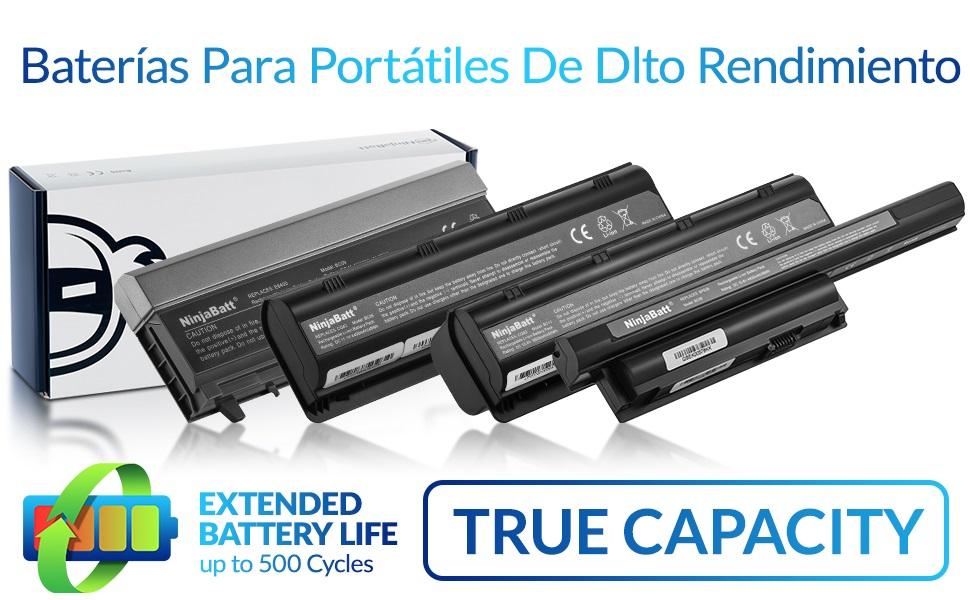 NinjaBatt - Batería para Ordenador portátil Acer AS10D31 AS10D51 ...