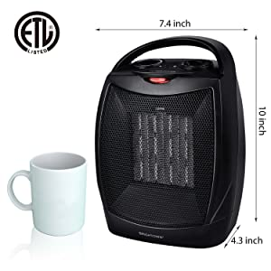 heater 905 black