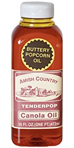 Amish Country Popcorn Buttery Canola OilOld Fashioned