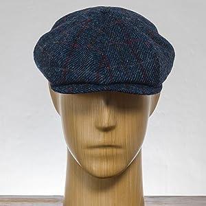 shelby, vintahe, peaky blinders, birmingham, gangser, mob, military, harris tweed, wool, newsboy,cap