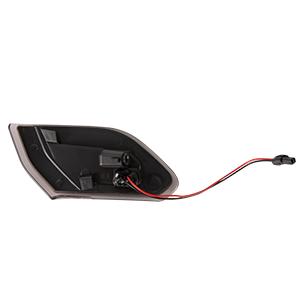 Fender LED Side Marker Light Amber Turn Signal Parking Lamp Lights for Jeep Wrangler JL 2018 2019