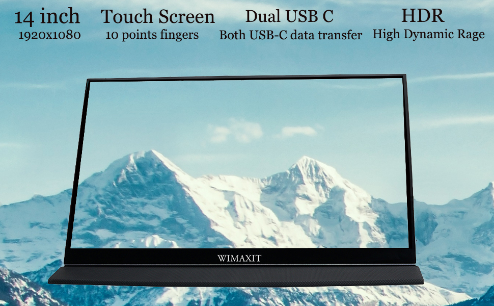 touch monitor  14 inch