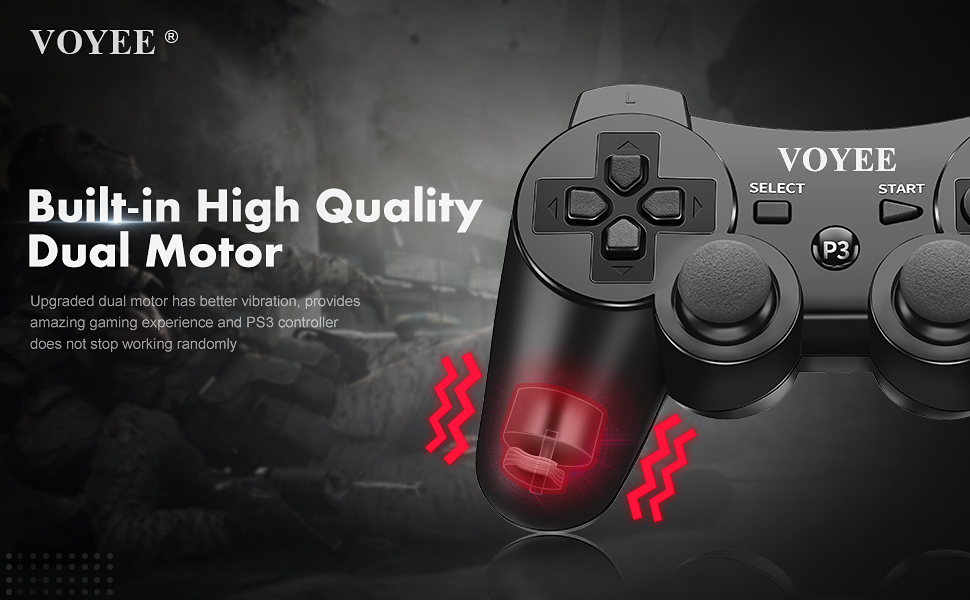WIRELESS PS3 CONTROLLER