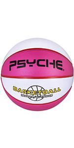 "rubber basketball 27.5"" basketball for kids size 5 basketball outdoor basketball"