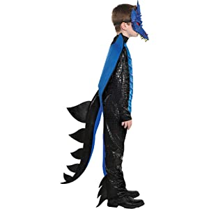 dragon costumes scary movie villain hero character mask accessories fright kids children