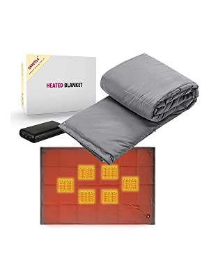 heated blanket electric heating throw blankets twin prime clearance size heat warm