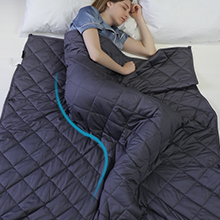 BUZIO Weighted Blanket for Adults, 60 x 80 inches for Queen Size Bed