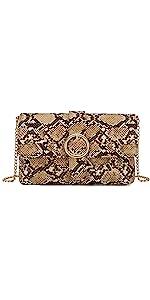 Snake Clutch purse