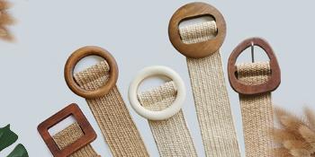 wooden buckle