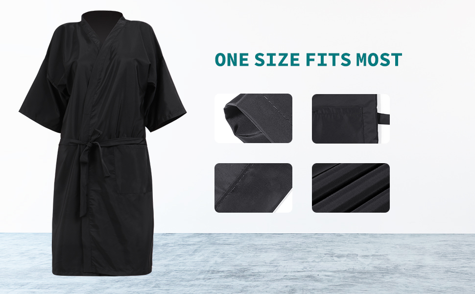 Waterproof Salon Client Gown12