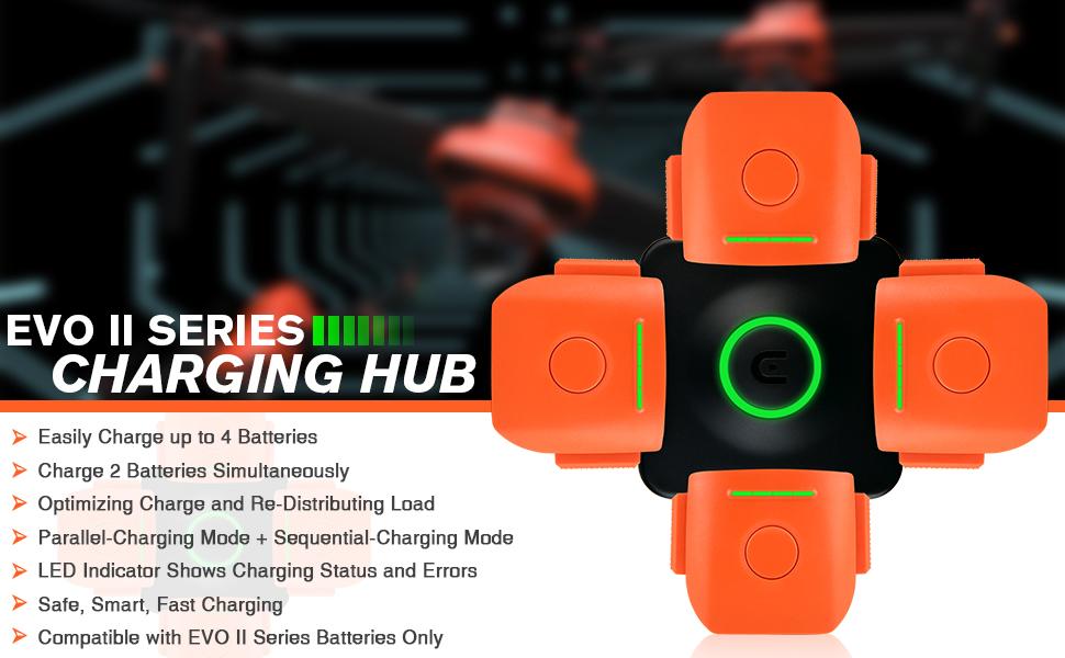 Autel Robotics EVO II Series Charging Hub Multi-Battery Charger- Banner