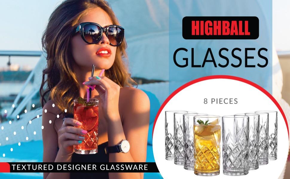 Highball glasses  1