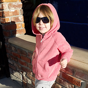 kids zip up soft hoodie for kids