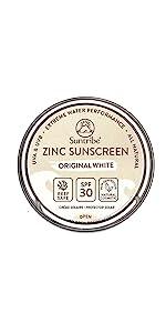 Suntribe All Natural Face & Sport Zinc Sunscreen SPF 30