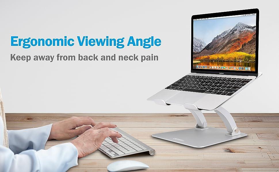 adjustable laptop stand riser holder