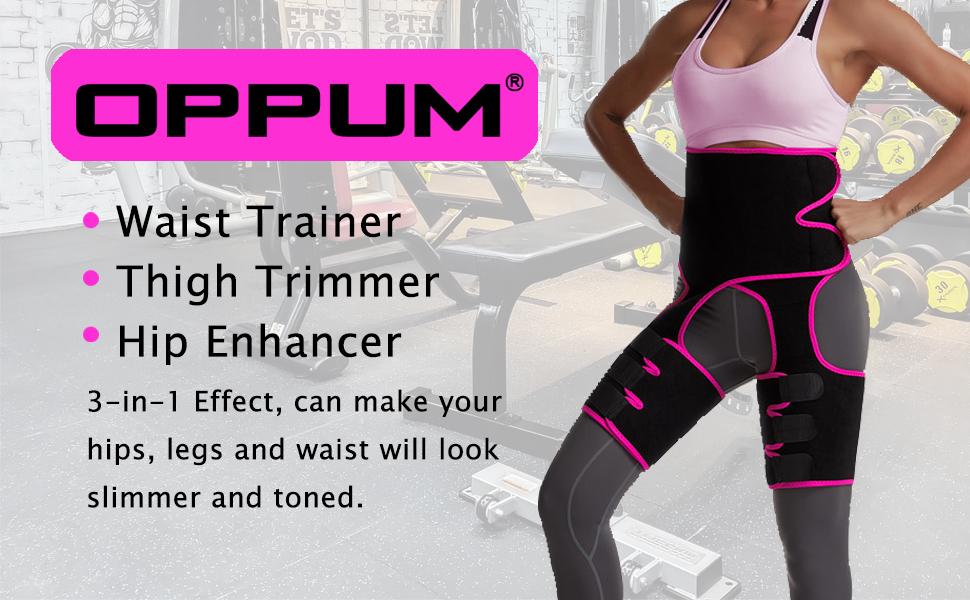 3 in 1 Waist Thigh Trimmer and Butt Lifter High Waist Thigh Trimmer,Waist Trainer for Women Weight Loss Everyday Wear- Black DH Butt Lifter Thigh Trimmer,Waist Trainer Thigh Trimmer M//XLarge