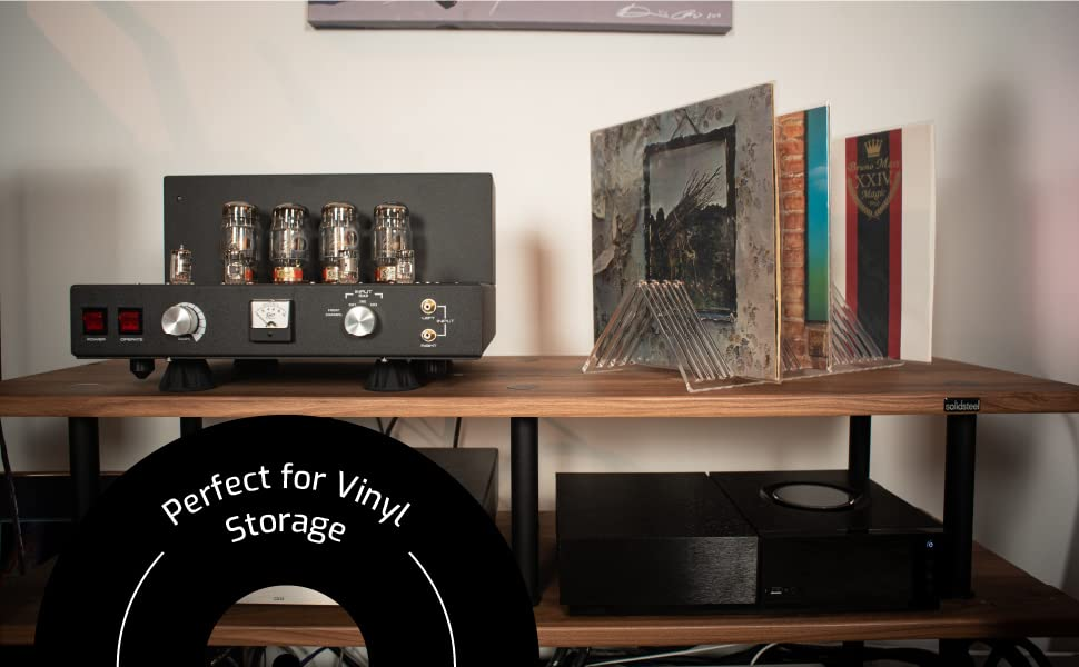 measures resistant holding carrying crates storage dic voice records stand frame racks invisible