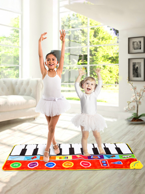 kids piano mat