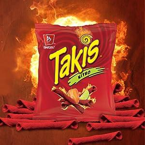 takis nitro tasty spicy